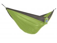 Hamak turystyczny dwuosobowy Parachute, PAR2 - szaro-zielony(8)