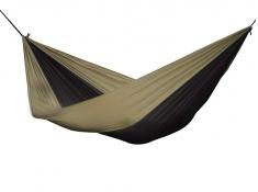 Hamak turystyczny dwuosobowy Parachute, PAR2 - brązowo-czarny(2)