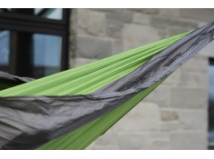 Hamak turystyczny Parachute, PAR1 - szaro-zielony(8)