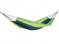 Hamak turystyczny, Silk traveller - Zielony(Forest)