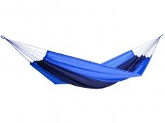 Hamak turystyczny, Silk traveller - Niebieski(Ocean)
