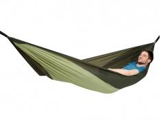 Hamak turystyczny, Silk traveller Thermo - oliwkowy(Thermo)