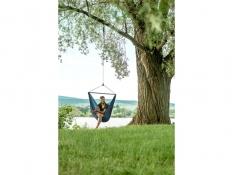 Turystyczny fotel hamakowy z zestawem montażowym, ZZV14 - Granatowy(39)