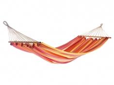 Hamak z drążkiem, GRAPHIK - czerwono-żółty(18003-1)