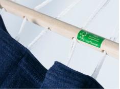 Hamak z drążkiem, GRAPHIK - jeans(25360)
