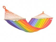 Hamak z drążkiem, KOMPLICE - Rainbow(17465)