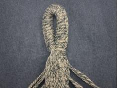 Hamak z drążkiem, HS-312 - jeans(312)