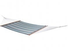 Pikowany hamak Sunbrella z drążkiem dwuosobowy, SUN2 - błękitno-niebieski(08)