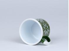Kubek emaliowany, Christmas - zielony(zielony)