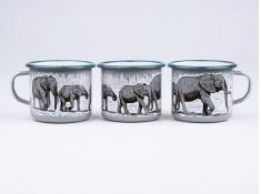 Kubek emaliowany, Elephant - szary(Grey)