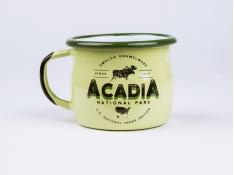 Kubek emaliowany, U.S.National Parks - Zielony(Acadia)