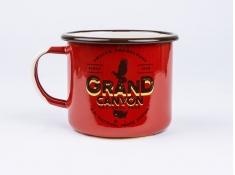 Kubek emaliowany, U.S.National Parks_b - Czerwony(Grand Canyon)