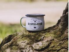 Kubek emaliowany, U.S.National Parks - Niebieski(Everglades)