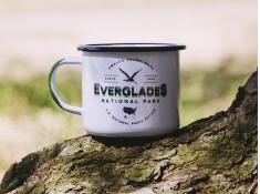 Kubek emaliowany, U.S.National Parks_b - Niebieski(Everglades)