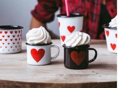 Kubek emaliowany, Love_b - biały(biały)