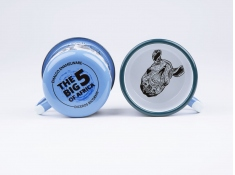 Kubek emaliowany, Rhino - niebieski(Sky Blue)