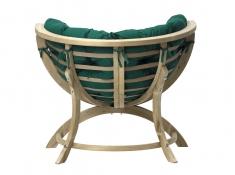 Fotel drewniany, Siena Uno weatherproof - Zielony(Verde)