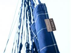 Leżak hamakowy Domingo L180, DOL18 - Granatowy(W3)
