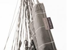 Leżak hamakowy Domingo L180, DOL18 - szary(W6)
