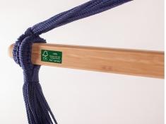 Leżak hamakowy Domingo L210, DOL21 - Granatowy(W3)