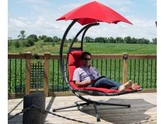 Fotel hamakowy, DREAM - Czerwony(CR)