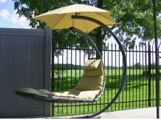 Fotel hamakowy, DREAM - cappuccino(SD)