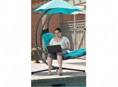 Fotel hamakowy, DREAM - niebieski(0TT)