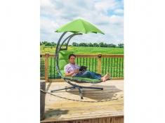 Fotel hamakowy, DREAM - zielony(GA)