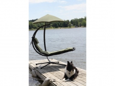 Fotel hamakowy, DREAM - zielony groszek(RO)