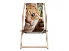 Drewniane krzesło, Swing Chair(1) - ecru(1)