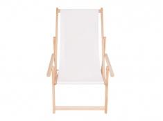 Drewniany leżak z podłokietnikiem, Swing Sunbed Plus