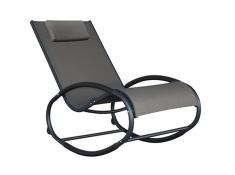 Fotel bujany, WAVER1 - czarno-szary(BC)