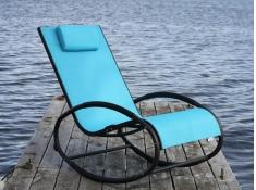 Fotel bujany, WAVER1 - Niebieski(SB)