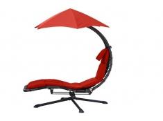 Fotel hamakowy, DRM360 - Czerwony(CR)
