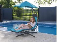 Fotel hamakowy, DRM360 - Niebieski(TT)