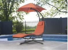 Fotel hamakowy, DRM360 - pomarańczowy(OZ)