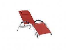 Leżak Dockside, DKDSUN - Czerwony(CR)