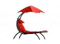 Leżak hamakowy, DRMLG - Czerwony(CR)
