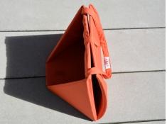 Składane siedzisko, Sego - Brick Red(2)