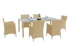 Zestaw mebli stołowych CAPITALE, MS.001.003 - beżowy(012)