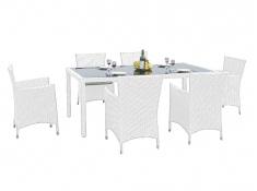 Zestaw mebli stołowych CAPITALE, MS.001.003 - biały(007)
