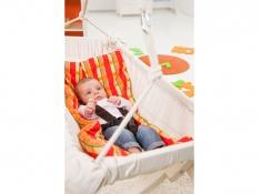 Podszyty koc do hamaków niemowlęcych, Sunny - Pomarańczowy(0range)