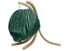 Pokrowiec na dwuosobowy fotel drewniany, Globo Royal Cover - zielony(Zielony)