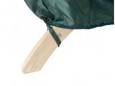 Pokrowiec na fotel drewniany, Siena Uno Cover - zielony(Zielony)