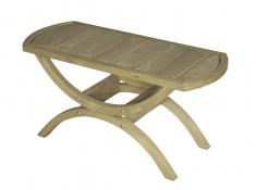 Stolik drewniany, Tavolino - świerk + bejca w kolorze oliwkowym(Tavolino)