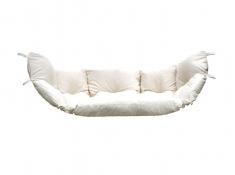 Poduszka hamakowa duża, Poducha Swing Chair Double - ecru(01)