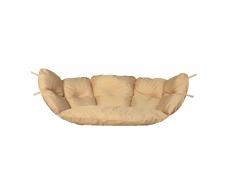 Poduszka hamakowa duża, Poducha Swing Chair Double (2) - cappuccino(4)