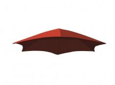 Parasol do leżaka, DRMUF - Czerwony(CR)