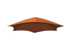 Parasol do leżaka, DRMUF - Pomarańczowy(OZ)