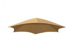 Parasol do leżaka, DRMUF - cappuccino(SD)